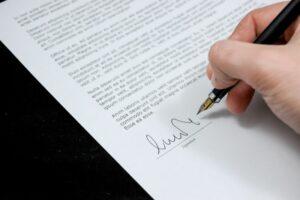 signature de l'expert comptable